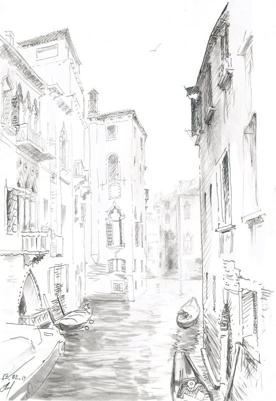 Венеция. Канал.