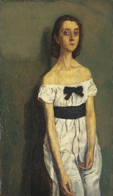 Гвен Джон. Девушка с открытыми плечами