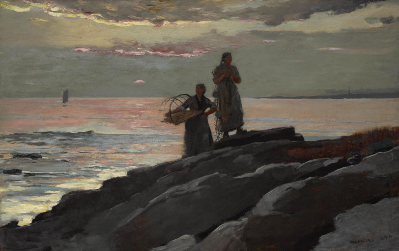 Winslow Homer. Bay Sako