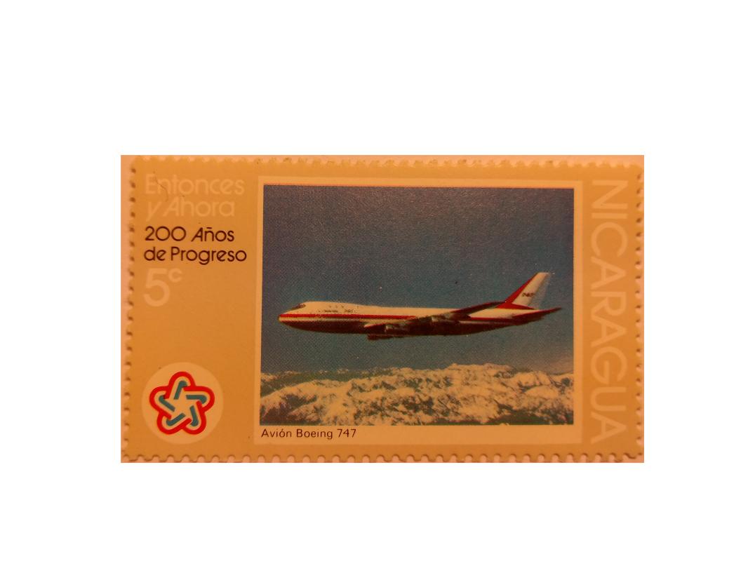 "Arthur Gabdrupes. ""Image"": ""Brand""; Mail: USA, Nicaragua, Boing 747. ""Archiv"" (p) (1)"