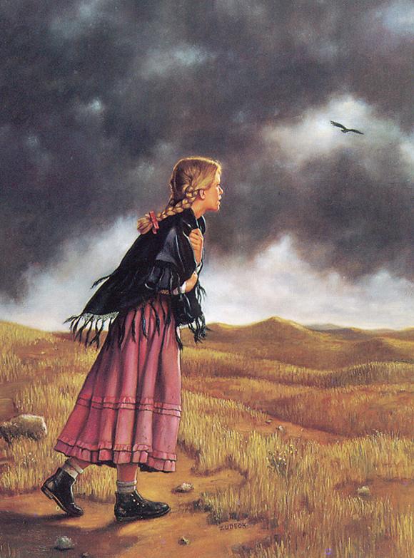 Дэррил Зудекк. Пасмурное небо