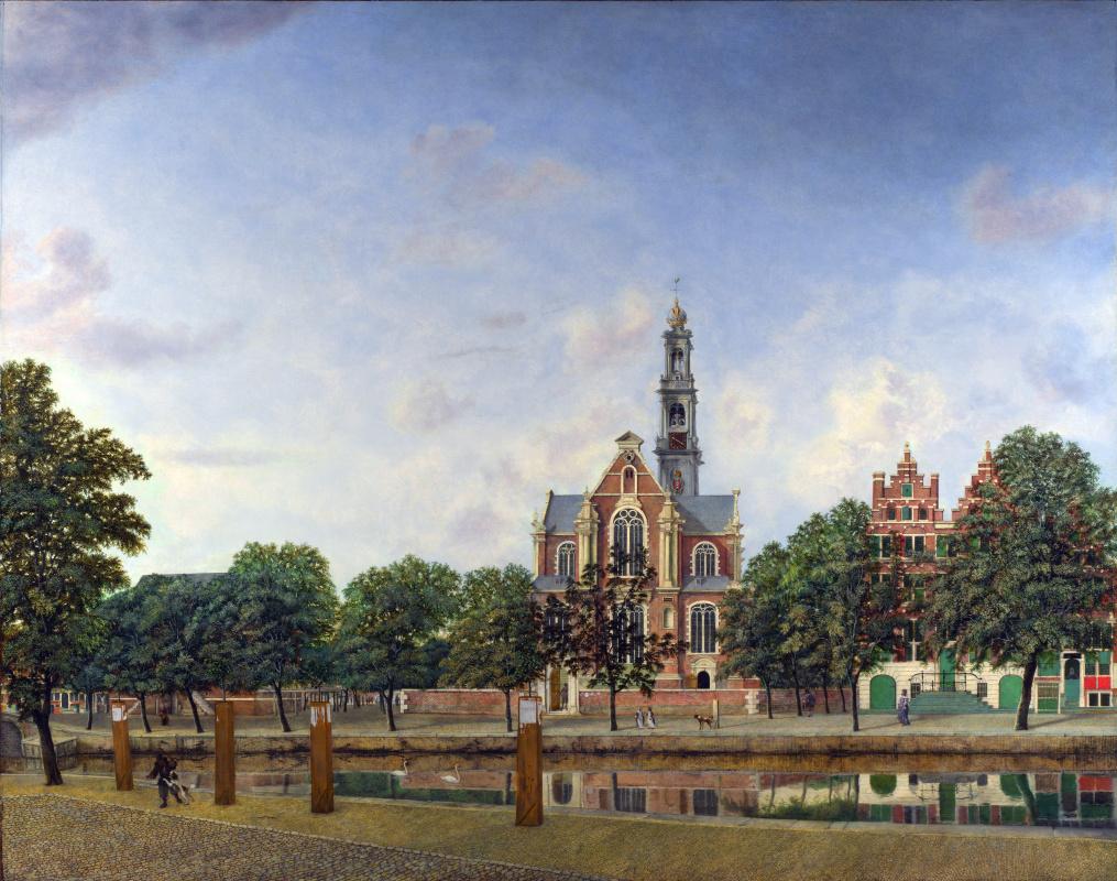 Ян ван дер Хейден. Амстердам