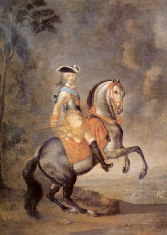 Конный портрет Петра III