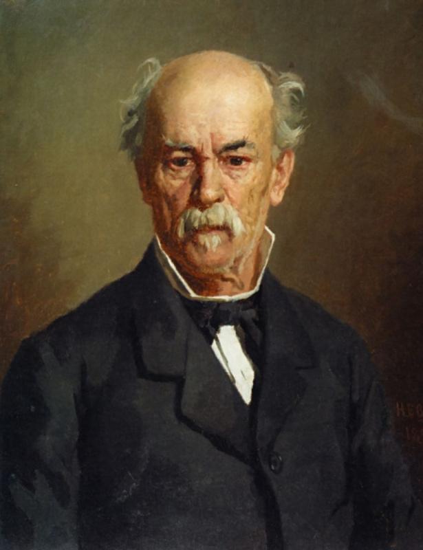 Nikolai Vasilyevich Nevrev. Portrait Of Gerasim Kharitonenko