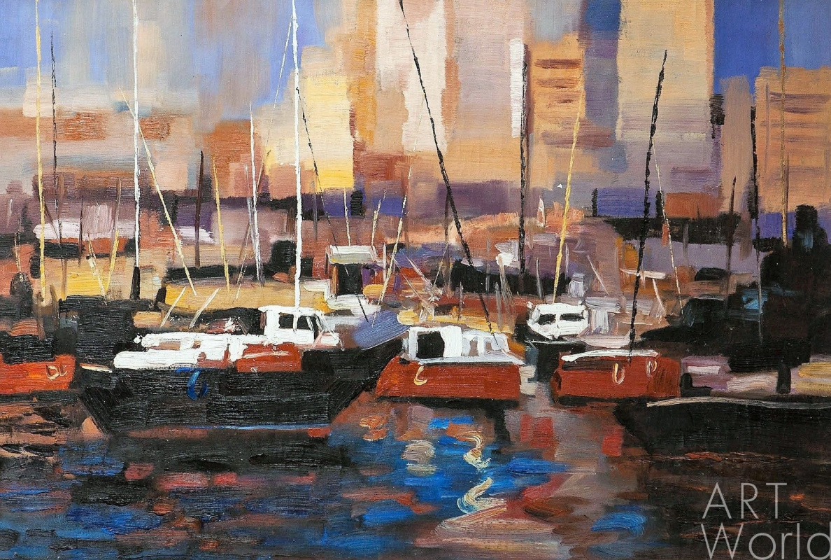 Brian dupre. Boats. Red tone