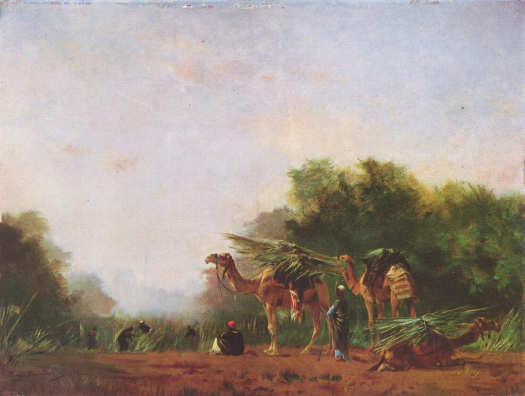 Eugene Fromomanten. The Arabs