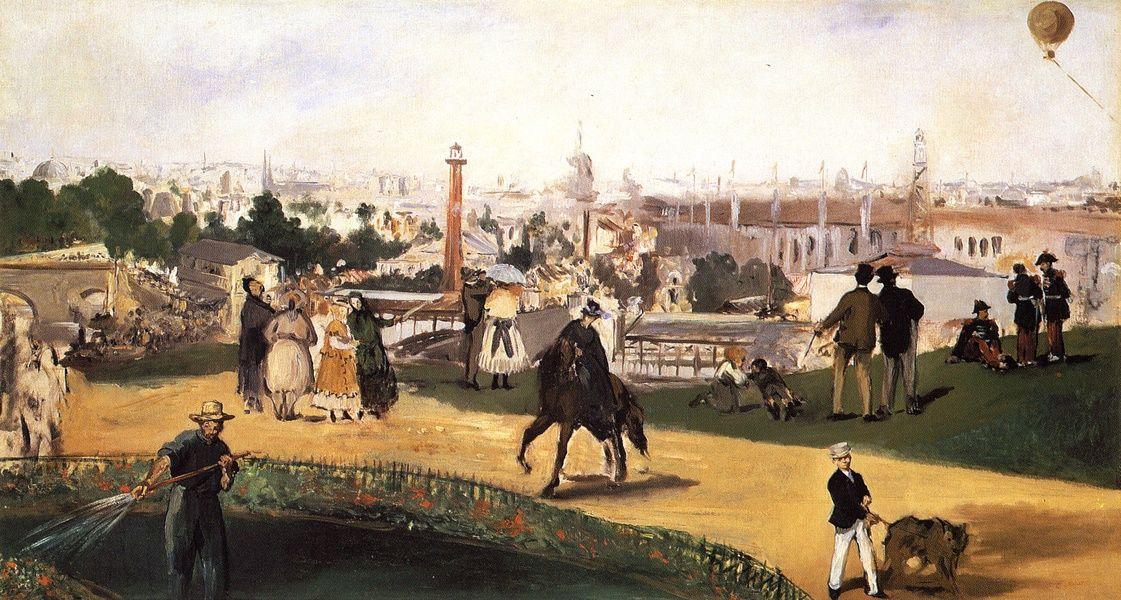 Edouard Manet. World exhibition