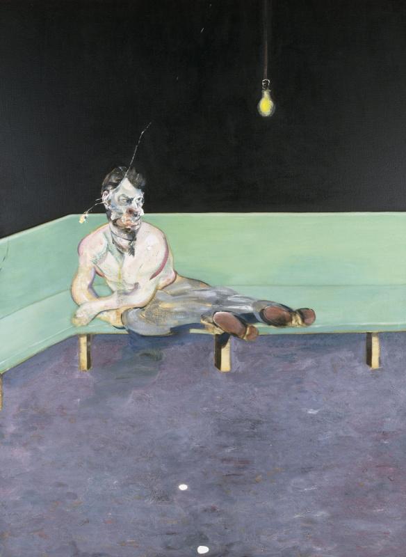 Набросок к портрету Люсьена Фрейда