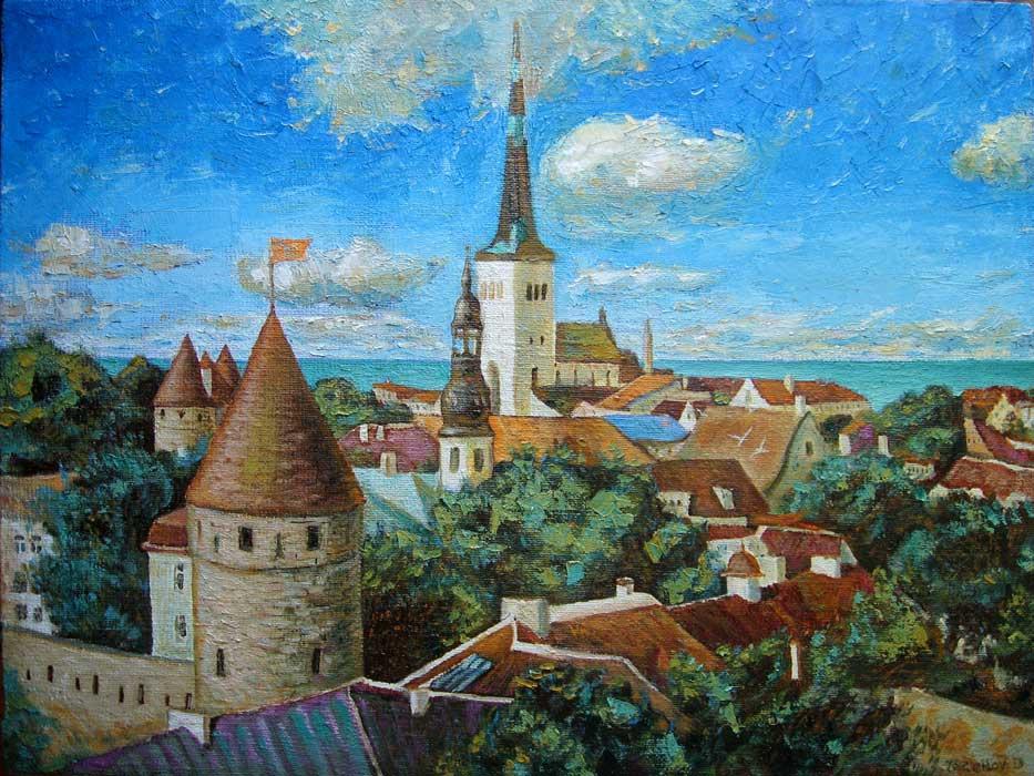 Dmitry Terekhov. Old city. Tallinn.