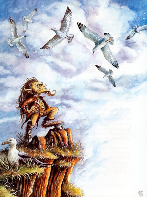 Паскаль Можеру. Птицы в небе