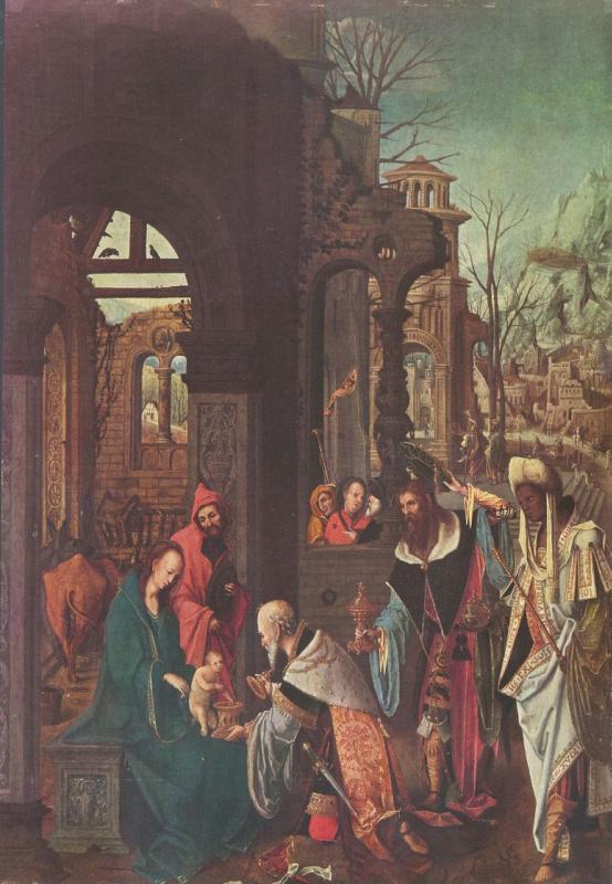 Ян де Беер. Поклонение волхвов