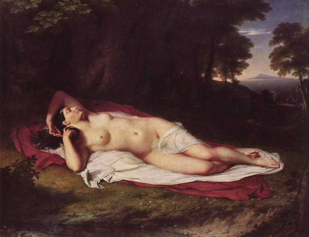 Джон Вендерлейн. Спящая Ариадна на Наксосе