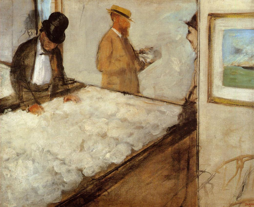 Edgar Degas. Cotton merchants in New Orleans