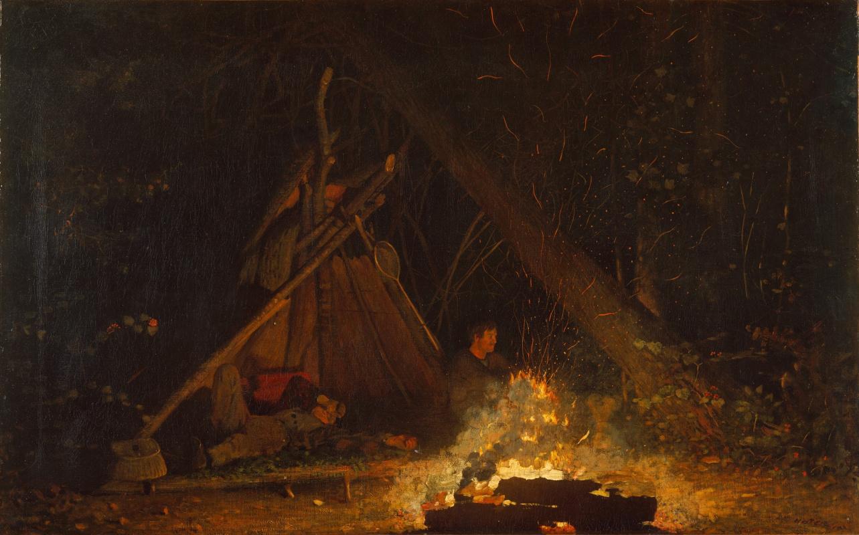 Winslow Homer. The fire