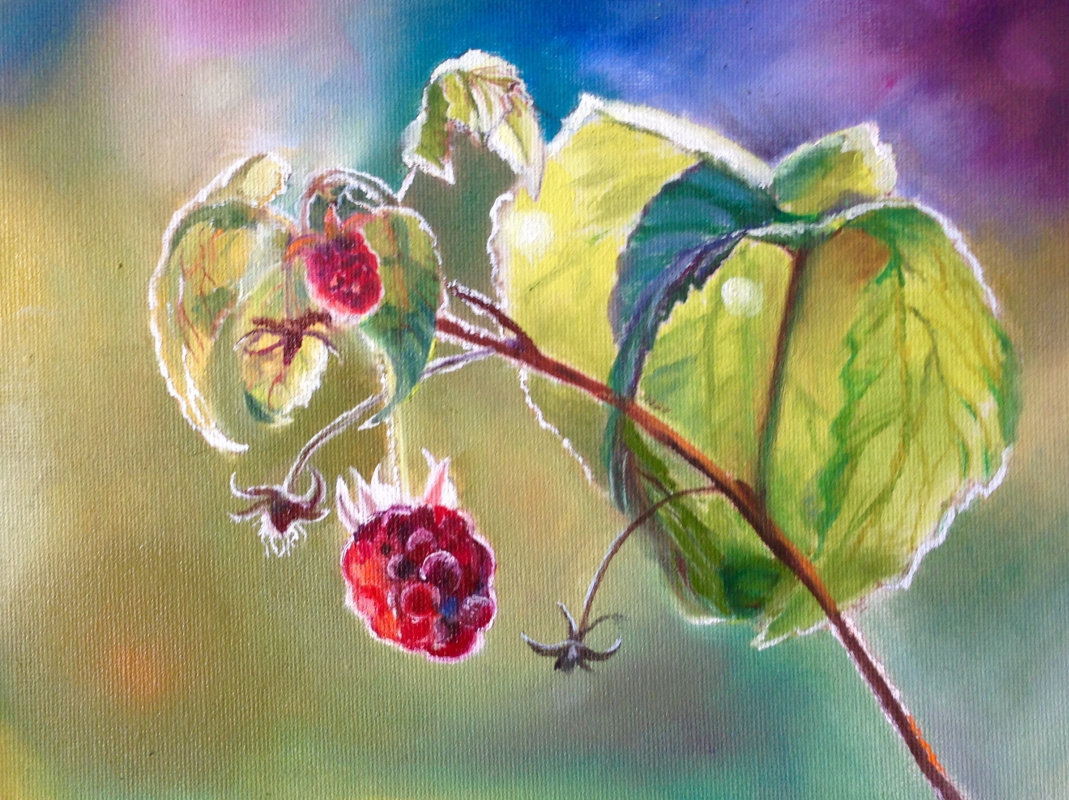 Olga Rybakova. Summer berries