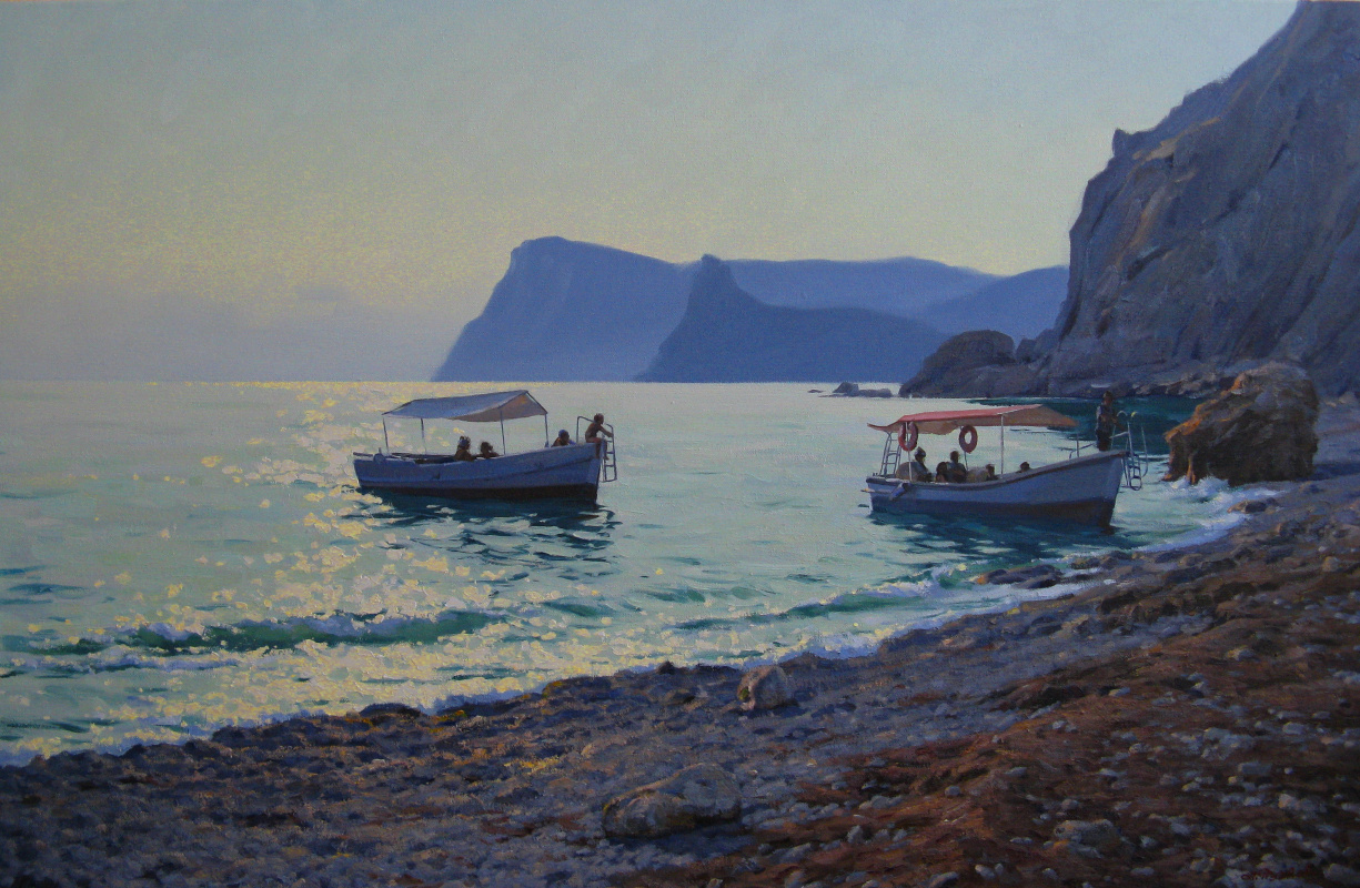 """Artem Yurievich Puchkov. """"To the shore"""""""