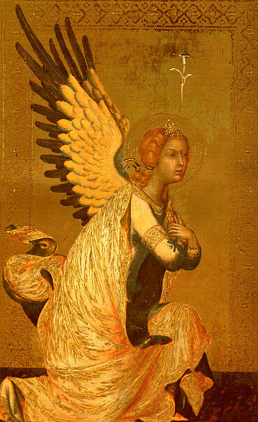 Simone Martini. Angel