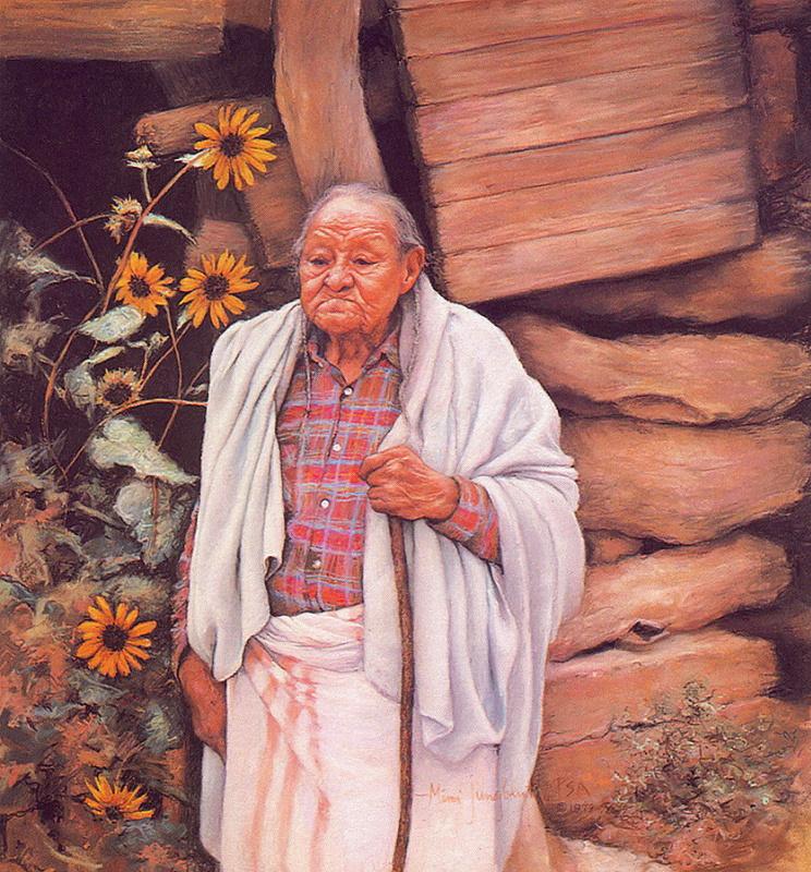 Таос Юнгблуз. Почтенный старец