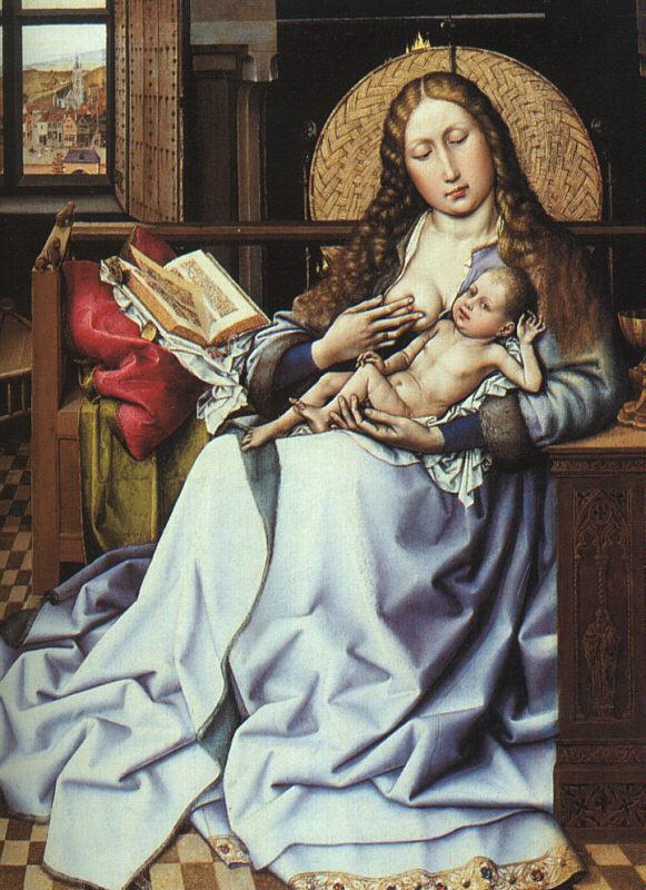 Винченцо Кампи. Богородица с младенцем