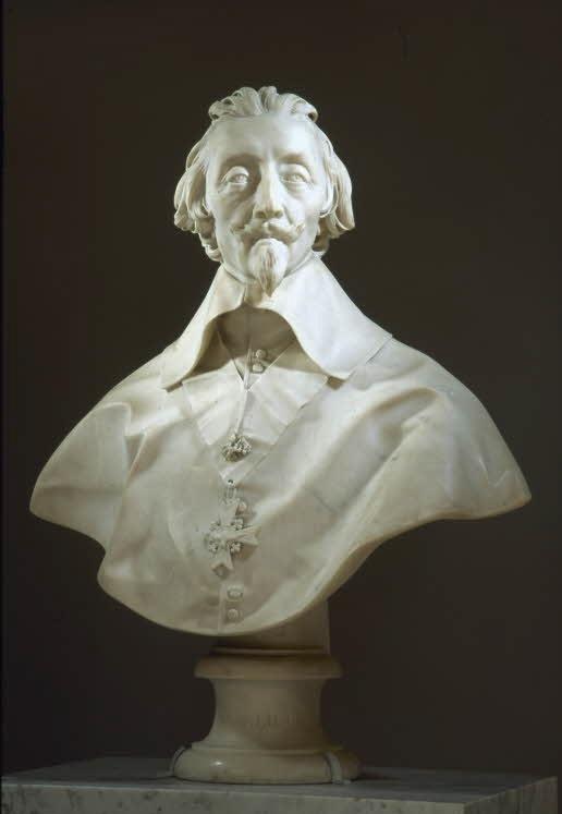 Gian Lorenzo Bernini. Cardinal de Richelieu