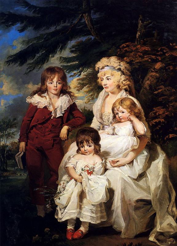 Джеймс Уорд. Мать с детьми