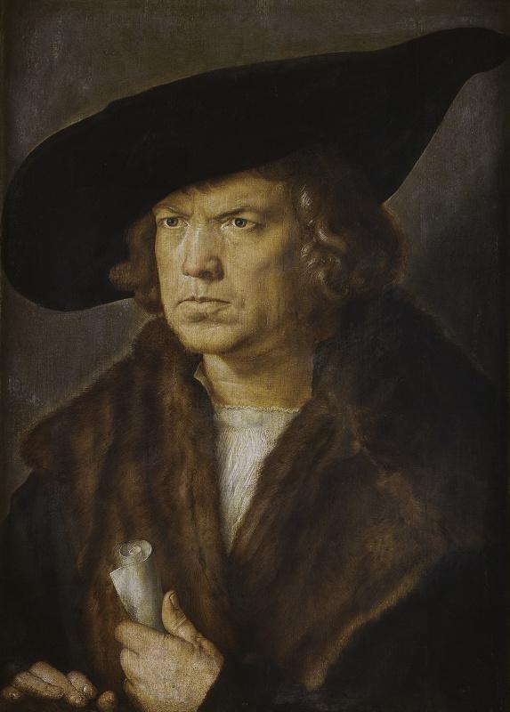 Albrecht Durer. Portrait of a man