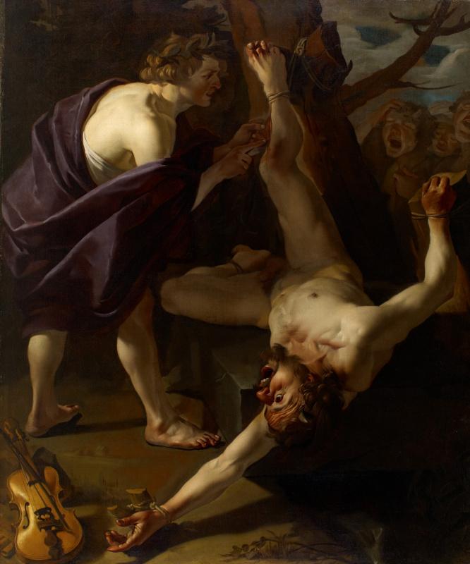 Dirk Van Babouren. Apollo skinning Marcia