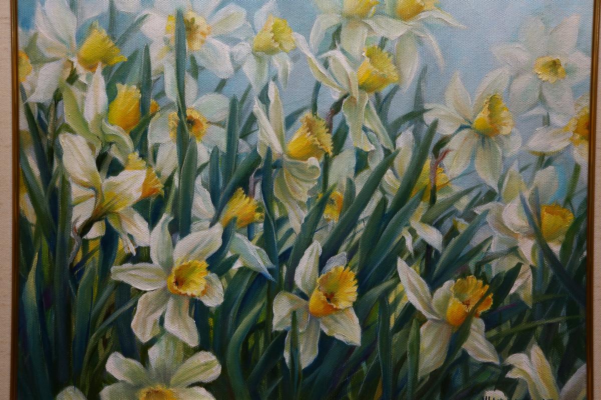 Galina Saffron. Irises
