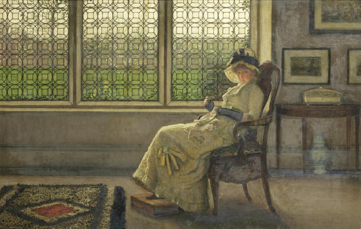 John Atkinson Grimshaw. Mistress Dorothy