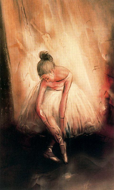 Джулиан Момоитио Ларринага. Балерина