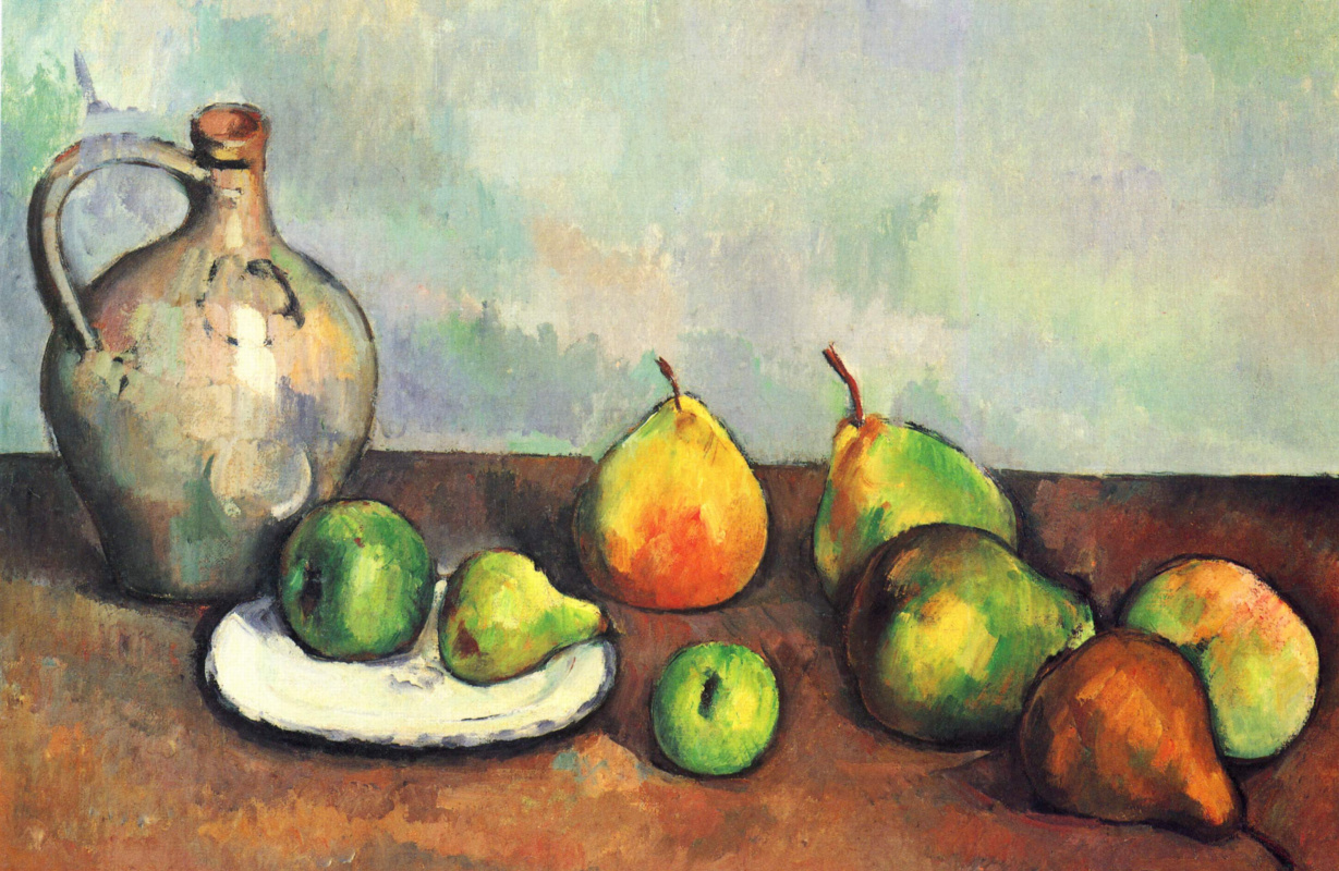 Картинки по запросу Поль Сезанн картина«Фрукты».