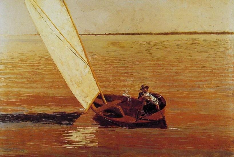 Thomas Eakins. Sailboat