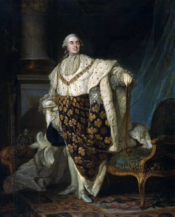 Портрет Людовика XVI, короля Франции