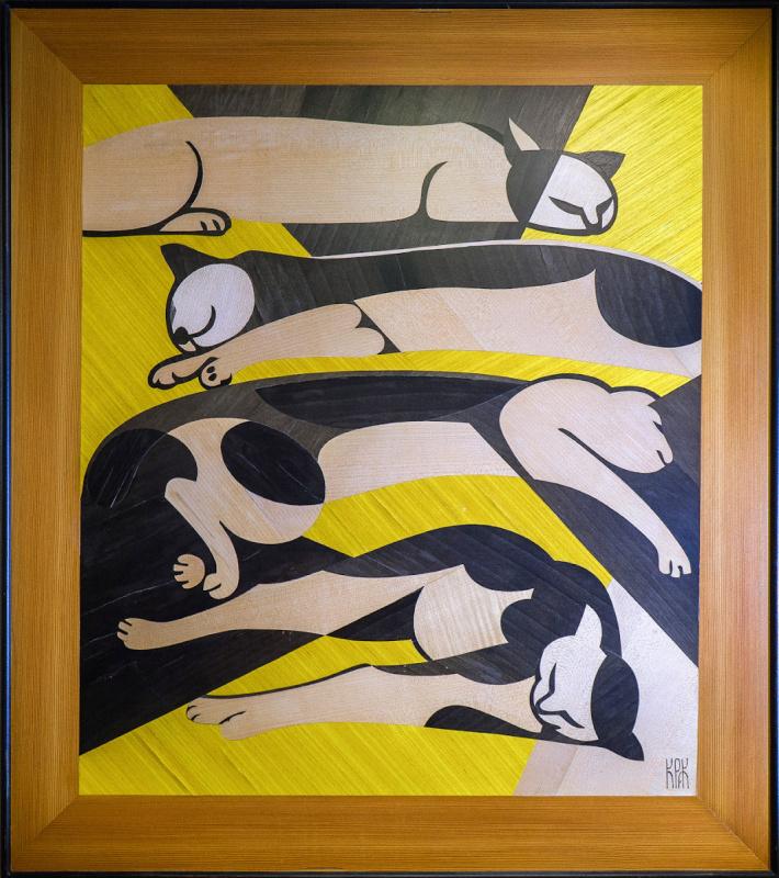 Constantine Krivoshein. Cats