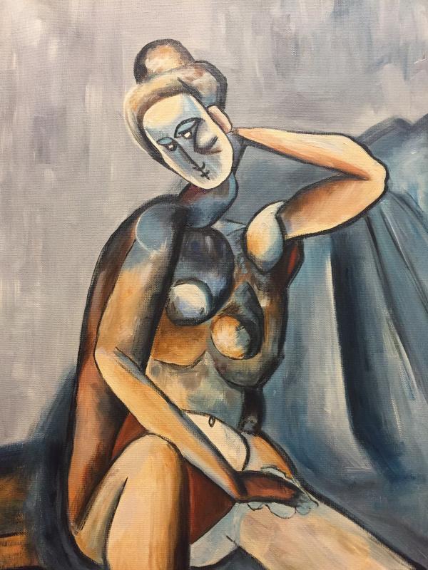 Iana Semenova. Nude