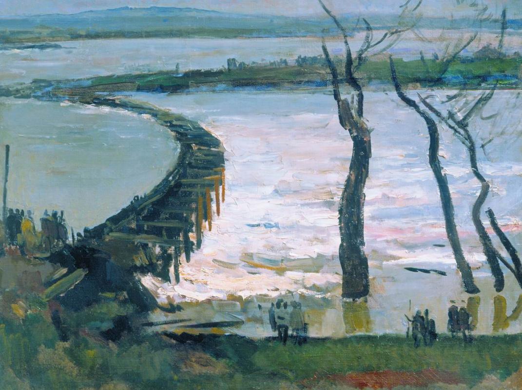 Sergey Vasilyevich Gerasimov. Dam