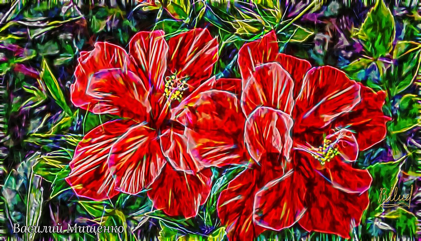 Vasiliy Mishchenko. Flowers 006