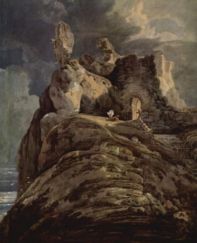 Томас Гёртин. Замок Бамбург