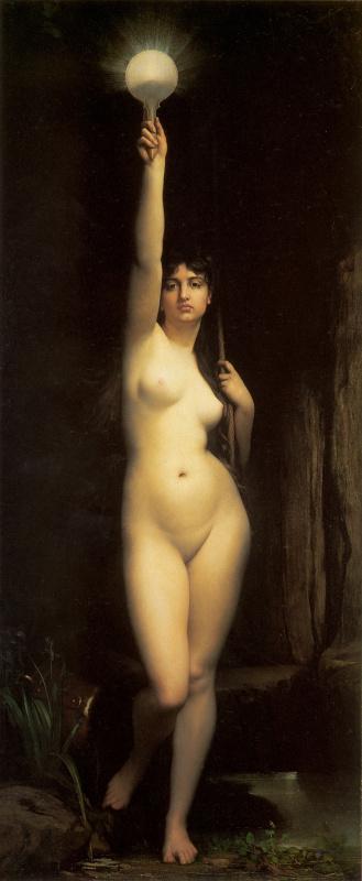 Жюль Жозеф Лефевр. Аллегория Истины. 1870