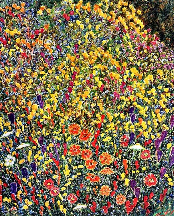 Марсель Кет. Маленькие синие цветы