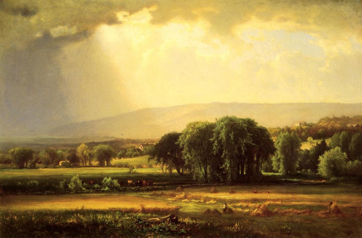 Джордж Иннесс. Уборка урожая в долине Делавер