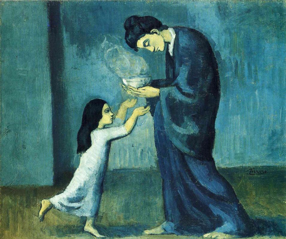 Pablo Picasso. Soup