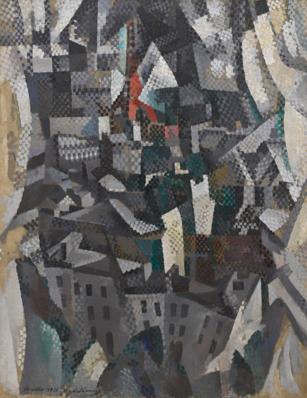 Robert Delaunay. The city
