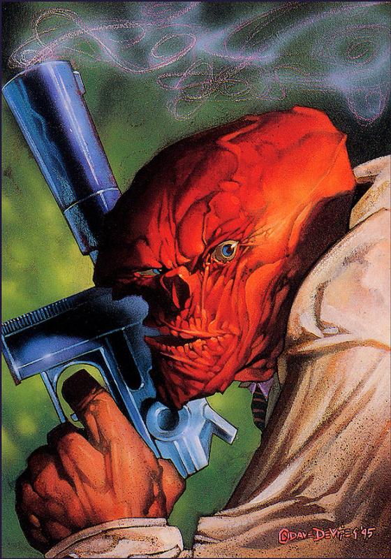Дэйв Де Вриз. Красный череп