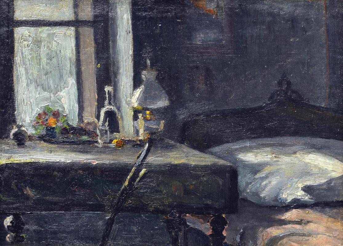 Николай Григорьевич Бурачек. Artist's room in Krakow
