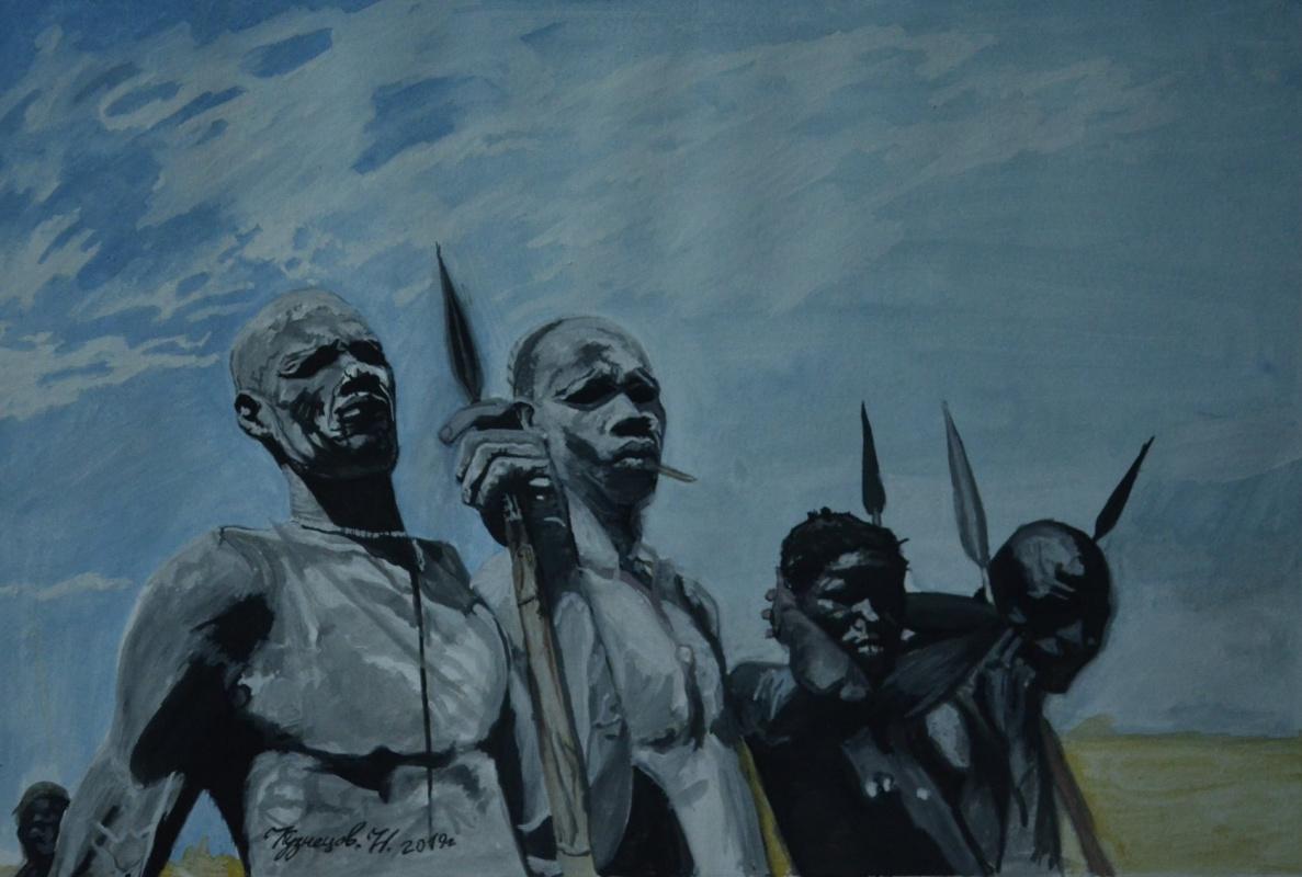 Kuznetsov. N.. Nuba tribe