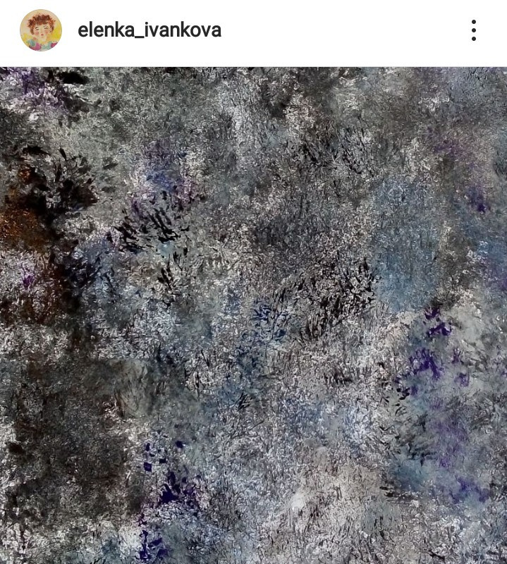 Elenka Ivankova. Under the feet. 105 shades of asphalt. Watercolor, 2019