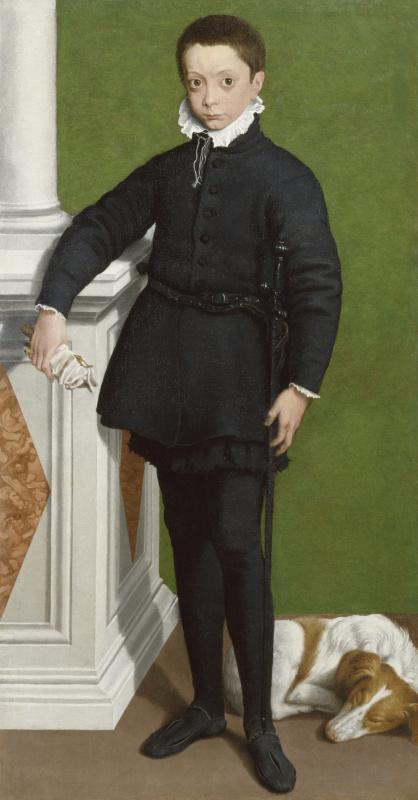 Софонисба Ангвиссола. Портрет Массимилиано Стампы в возрасте девяти лет
