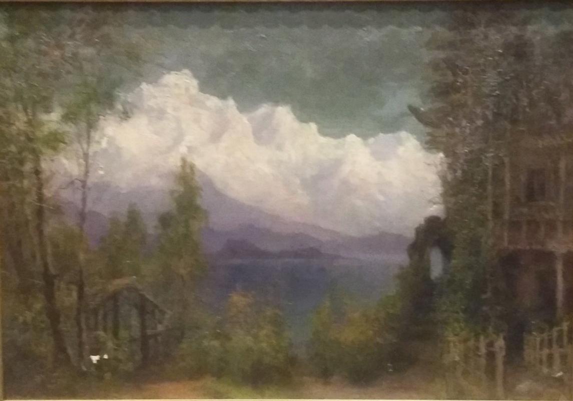 Yehoshua Moiseevich Shlugleit. Mountain landscape