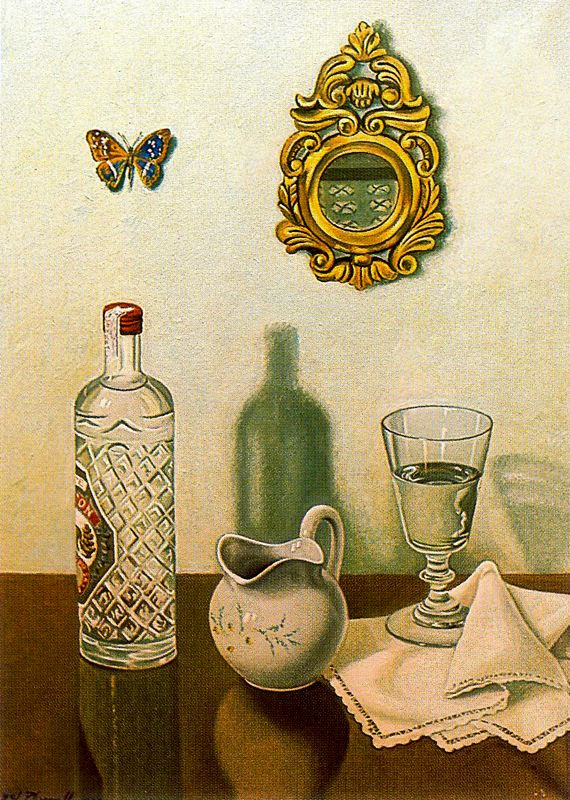 Анхель Планеллс. Бабочка на стене
